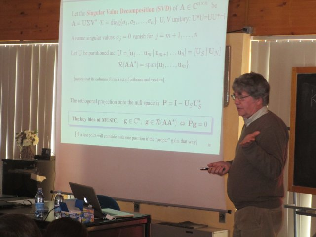 "ESoA - COST Course on ""Microwave Imaging and Diagnostics\"""
